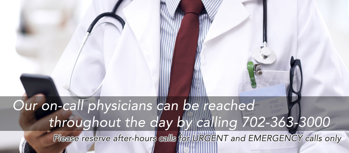 Summerlin Pediatrician on Call